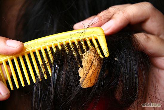 بالصور طريقة سهلة جداً لإزالة اللبان اللاصق من الشعر دون اى آلم ! 7 7/12/2015 - 4:34 م