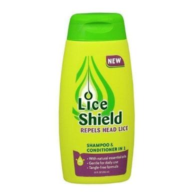 شامبو و بلسم Lice Shield للقضاء على حشرات الرأس